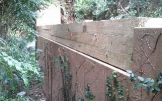 Vaucluse Retaining wall Stacked
